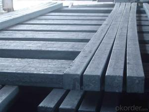Prime quality square alloy steel billet 165mm Q235