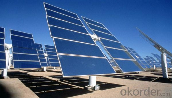 Monocrystalline solar panel for light with high efficiency