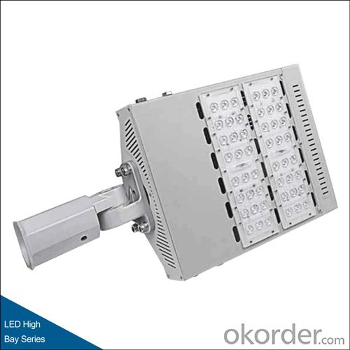 LED street light, 100W/150W/180W, 125lm/W, IP65, PF up to 0.98