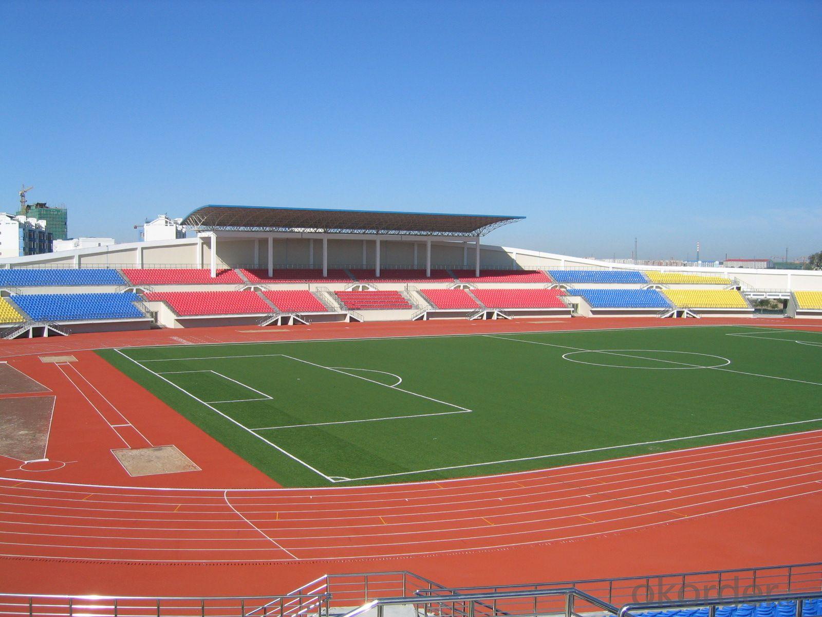 Raw Material Artificial Turf Tennis Court Artificial Grass in Football Field