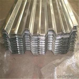 Galvanized Corrugated steel Plate for Roofing/Galvanized steel Plate