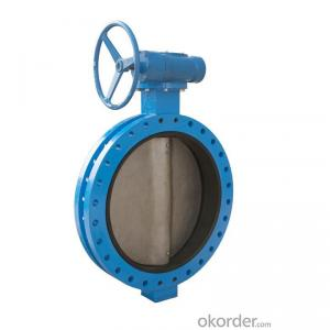 BUTTERFLY VALVE DOUBLE FLANGED DUCTILE IRON DN50- DN1200