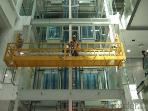 Suspended Platform ZLP800 TEMPORARILY INSTALLED SUSPENDED ACCESS EQUIPMENT