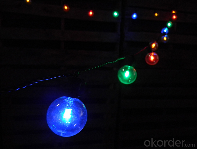 A15 G50 S14 Outdoor Patio String LED Globe String Lights