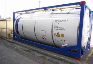 ASME Refrigerating Fluid Tank Container