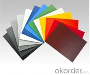 PVC Foam Boards Sheets Panel White, Red, Yellow, and Blue