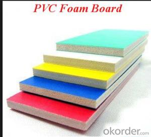 PVC Foam Board Sheets different colors and sizes, for catering to different industrial requirements