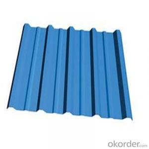 Prepaint Galvanized Corrugated Iron Sheet