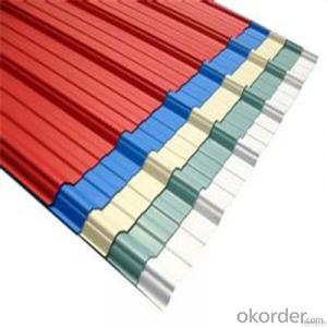 Prepaint Galvanized Corrugated Iron Sheet Supplied from China