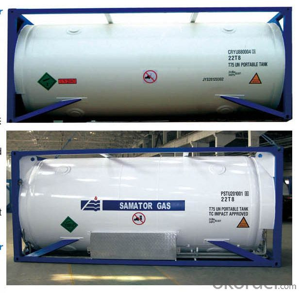 ASME/GB150 Cryogenic Medium Tank Container