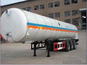CNBM Carbon Dioxide Truck with variety capacity
