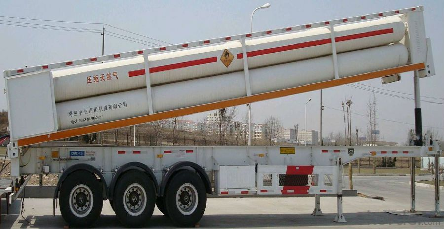 CNBM Liquefied Gas Transport Vehicles