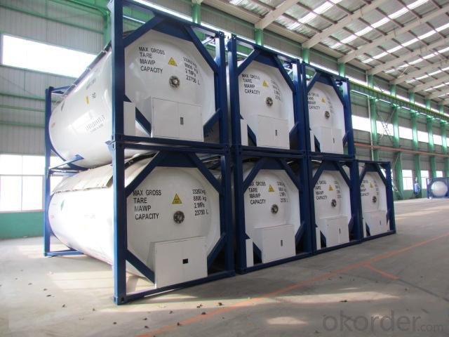 ASME/GB150 High Purity Liquefied Ammonia and HF Tank Container