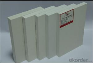 PVC Foam Sheet/Board /Panel Free Foam Pvc Sheet