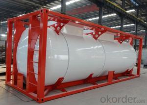 ASME/GB150 Chemical Medium Tank Container