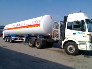 ASME/GB150 LNG Cryogenic Liquid Lorry Tanker