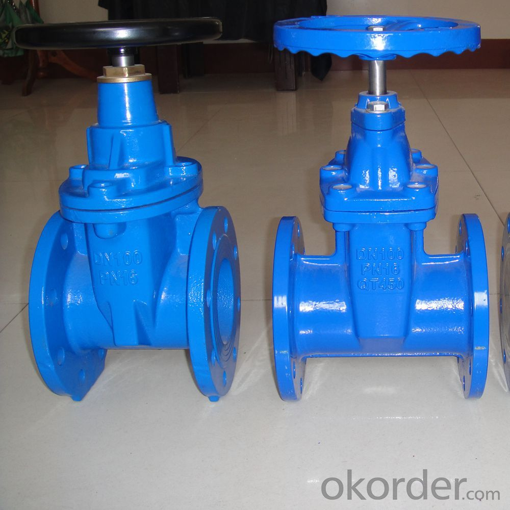 GATE VALVE NON-RISING STEM METAL SEATED DUCTILE IRON JIS