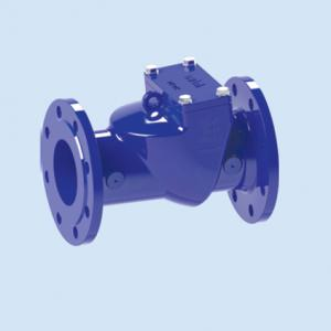 CHECK VALVE LIFT RUBBER FLAPPER DIN DUCTILE IRON DN40- DN300