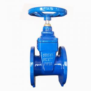 GATE VALVE NON-RISING STEM RESILIENT SOFT SEATED DUCTILE IRON DIN3352 F4 DN40-DN800
