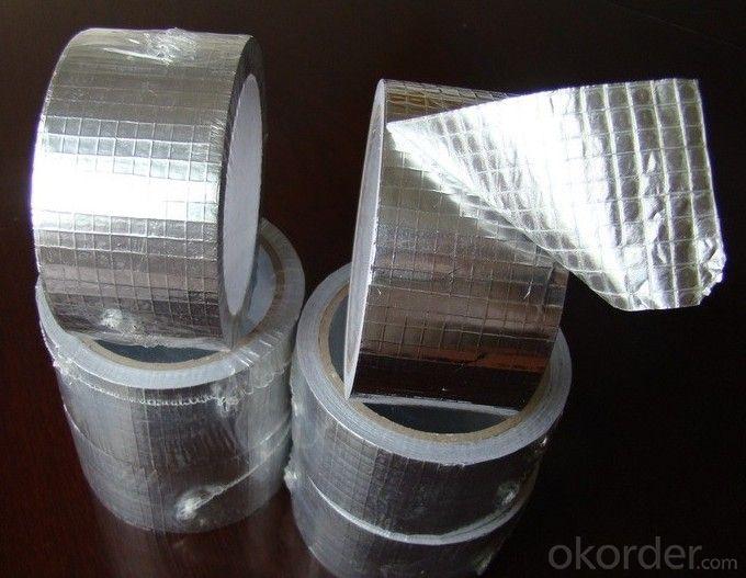 Aluminum Foil Tape Flameproof Acrylic Based Adhesive