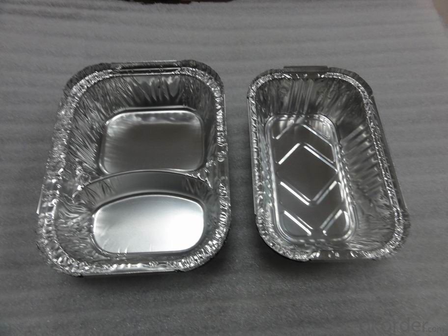 3003 Round Aluminium Foil Container For Food And Fruit Packaing