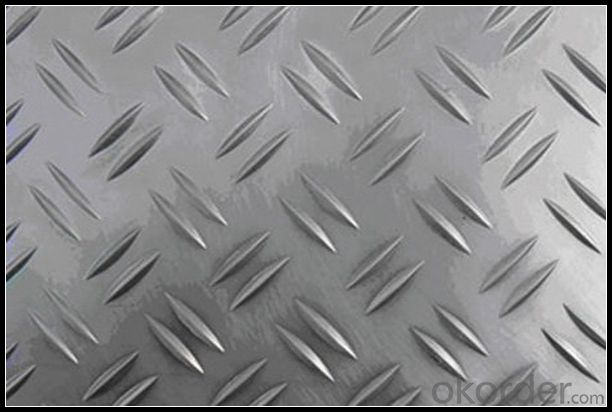 Mill Finish Five Bar Checkered Aluminum Sheet