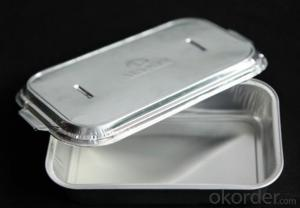 Disposable Aluminium Foil Container For Fast Food Packaing