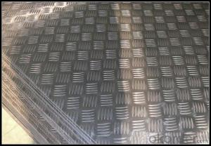 Mill Finish Five Bar Checkered Aluminum Sheet