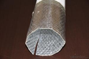 Embossed AL Woven Bubble Foam One-Layer Insulation