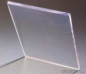 100% Virgin material clear polycarbonate solid sheet