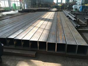 low carbon square rectangular pipe hot sell