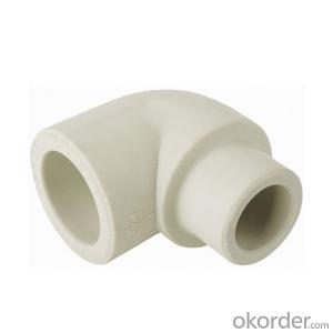 PPR Elbow 90 Degree Internal / External Pipe Fitting High Quality