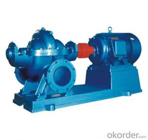 S/SH Vertical/Horizontal Split Case Single Stage Double Suction Centrifugal Pump