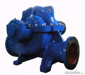 Double Suction Split Case Pump With Competitive Price