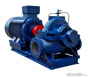 Single Stage Double Suction Split Case Pump
