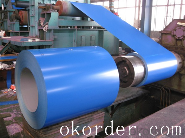 Prime quality prepainted galvanized steel 635mm