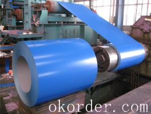 Prime quality prepainted galvanized steel 620mm