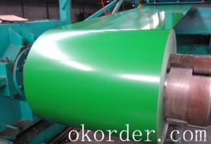 Prime quality prepainted galvanized steel 615mm