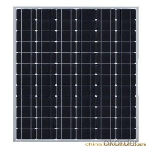 60W Poly Solar Panel with High Efficiency Made in China