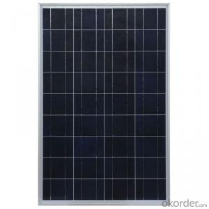 80W Poly Solar Panel with High Efficiency Made in China