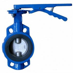 BUTTERFLY VALVE CENTER LINE TYPE WAFER DUCTILE IRON DN50-DN1000 ISO/ BS EN/ DIN/ API