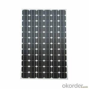 115W Mono Solar Panel Made in China for Sale