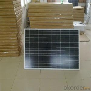 50W Poly Solar Panel with High Efficiency Made in China