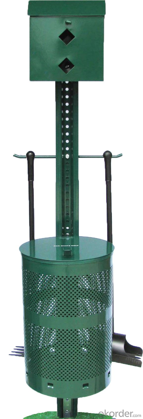 Dog Products Metal Dog Waste Station for Homeowners or Small Animal Clinic