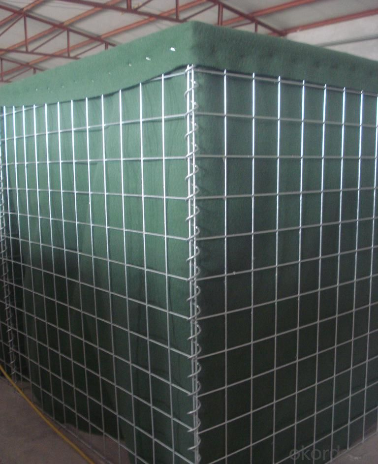 Sand Filled Hesco Military Box Gabion Made in China