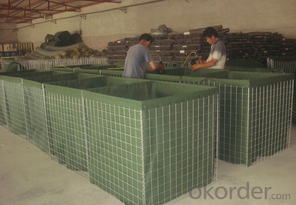Buy Army Used Military Gabion Box Hesco Barries Price Size