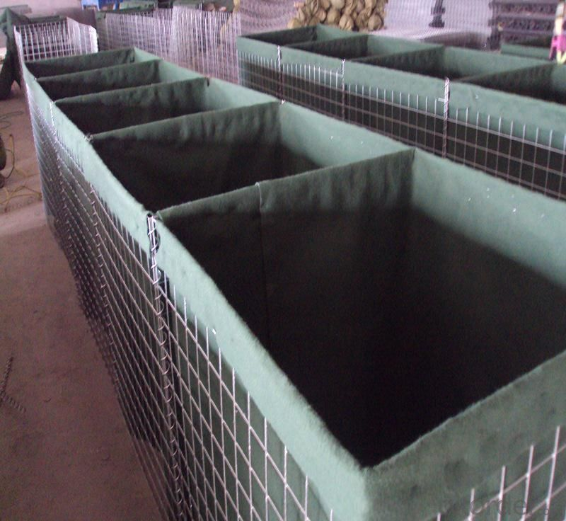 Flood Control Hesco Bastion Welded Gabion Panel Made in China