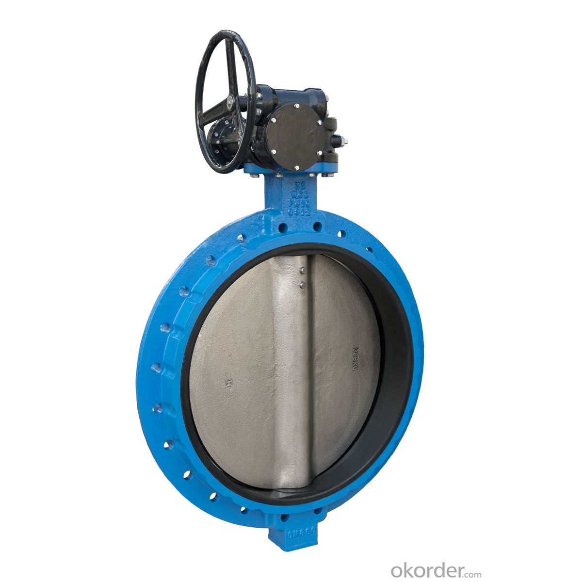 DUCTILE IRON BUTTERFLY VALVE DN1900 High Quality China
