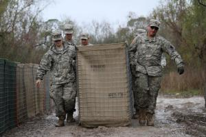 Galvanized Hesco Barriers /Army Used Military Hesco Barrier