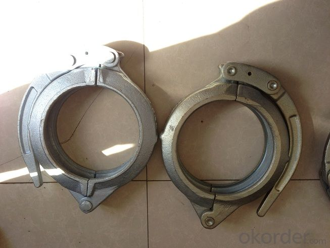 DN125 Forged Clamp for Pm Concrete Pump Parts